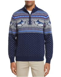 Vineyard Vines - Marlin Pattern Quarter-zip Jumper - Lyst
