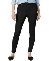 Jag Jeans Valentina Pull On Skinny Jeans In Forever Black