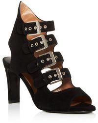 Laurence Dacade Women's Strappy Slingback High - Heel Sandals - Black