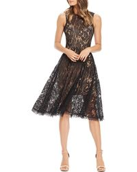 Dress the Population Shane Lace Dress - Black