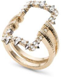Alexis Bittar - Studded Pavé - Detail Ring - Lyst