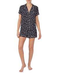 Kate Spade Short Pyjama Set - Black