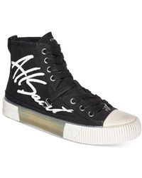 AllSaints - Elena High Top Sneakers - Lyst