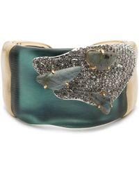 Alexis Bittar - Roxbury Stone & Crystal Open Cuff Bracelet - Lyst