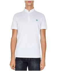 The Kooples - New Shiny Pique Regular Fit Polo - Lyst