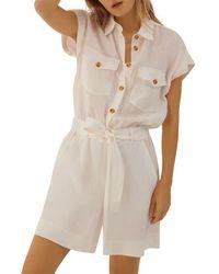 Marella Nardo Jumpsuit - White