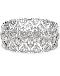 Nadri - Open Pavé Bangle - Lyst