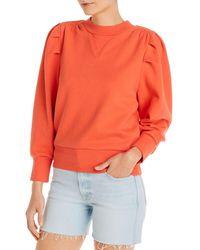 FRAME Puff - Sleeve Sweatshirt - Orange