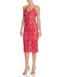Bardot - Tayla Lace Sheath Dress - Lyst