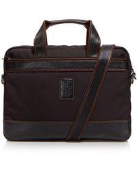Longchamp Boxford Slim Briefcase - Black