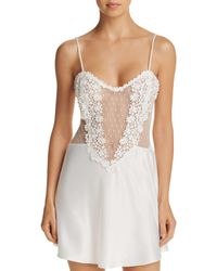 Flora Nikrooz - Showstopper Charmeuse Chemise - Lyst