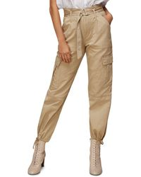 Whistles Cargo Military Trouser - Natural