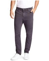 William Rast - Sawyer Bow Legged Slim Fit Trousers - Lyst