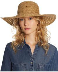 August Hat Company - Summer Glow Floppy Hat - Lyst