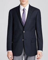 Hart Schaffner Marx Platinum Label Classic Fit Sport Coat - Blue
