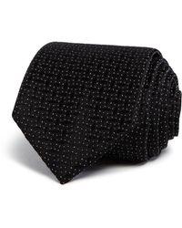 W.r.k. - Textured Dice Classic Tie - Lyst