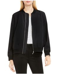 Two By Vince Camuto - Washed Soft Bomber Jacket - Lyst