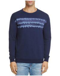 Vestige Sea Bed Pullover Sweatshirt - Blue