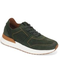Gentle Souls by Kenneth Cole Laurence Lace Up Jogger Trainers - Green