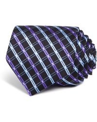 W.r.k. - Double Line Check Classic Tie - Lyst