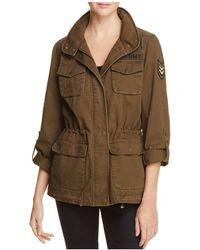 Vince Camuto - Floral-embroidered Military Jacket - Lyst