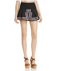 Piper - Sublime Embroidered Mini Skirt - Lyst