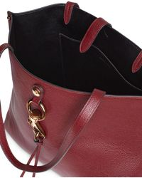 Rebecca Minkoff Megan Large Leather Tote - Red