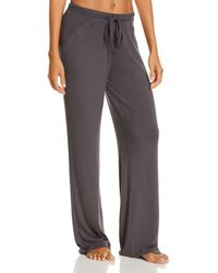 Cosabella Alessandra Soft Knit Lounge Trousers - Grey