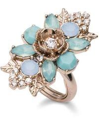 Marchesa Cluster Ring - Metallic