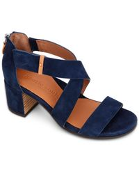 Gentle Souls by Kenneth Cole Charlene Strappy Sandals - Blue