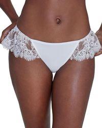 Skarlett Blue Entice Eylash Lace Bikini - White