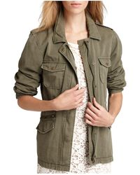 Velvet By Graham & Spencer - Army Jacket - Lyst