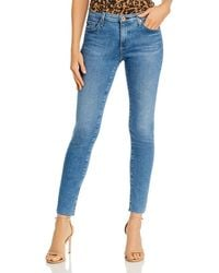 AG Jeans - Ankle Legging Jeans In Precision - Lyst