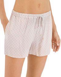 Hanro - Sleep & Lounge Woven Shorts - Lyst