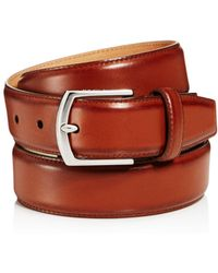 Cole Haan - Stitched Edge Belt - Lyst