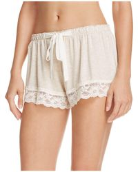Flora Nikrooz - Snuggle Knit Shorts - Lyst