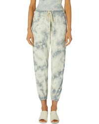 Enza Costa Tie Dye French Terry Jogger Trousers - Multicolour