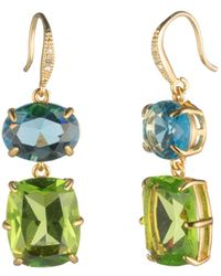 Carolee - Double Drop Earrings - Lyst