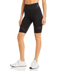 PUMA Exhale Mesh Curve Biker Shorts - Black