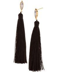 Gorjana - Palisades Tassel Drop Earrings - Lyst