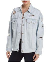 Levi's - Baggy Trucker Denim Jacket In Thin Ice - Lyst