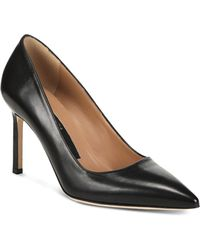 Via Spiga Women's Nikole Pointed Toe High - Heel Court Shoes - Black