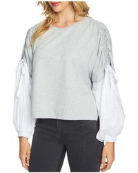 1.STATE - Layered-look Drawstring Top - Lyst