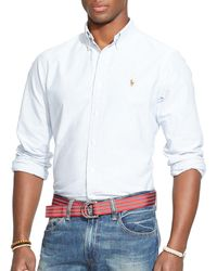 Polo Ralph Lauren - Multi - Striped Oxford Shirt - Classic Fit - Lyst