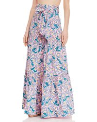 brand: Banjanan Discovery Floral Tiered Skirt