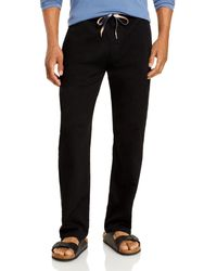 7 For All Mankind Beachside Pants - Black