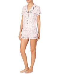 Kate Spade Short Pyjama Set - White