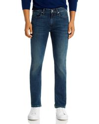 PAIGE Federal Slim Straight Jeans In Dashiel - Blue