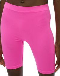 Helmut Lang Bike Shorts - Pink