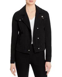 Lyssé Lysse Essential Denim Moto Jacket - Black